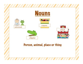 Nouns are everywhere! A packet of noun activities!