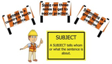 Nouns as Subjects and Objects Bulletin Board