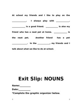 Nouns at School