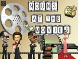 Nouns at the Movies with Lesson Plan and CCSS