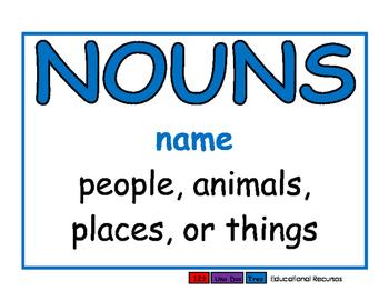 Nouns blue