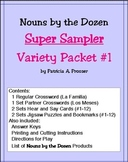 Nouns by the Dozen: Super Sampler Variety Packet #1