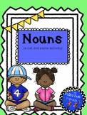 Nouns (common nouns and proper nouns) Cut and Paste Activity