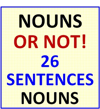 Nouns or Not!