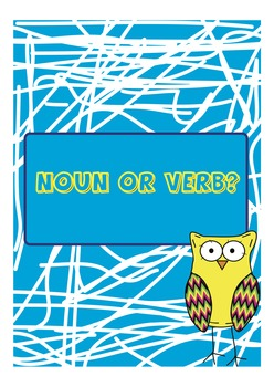 Nouns or Verbs Sorting Game