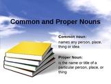 Nouns proper singular plural Powerpoint