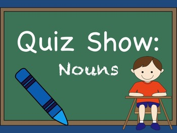 Nouns Jeopardy Review Game