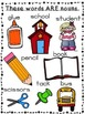 Nouns - the Back to School version