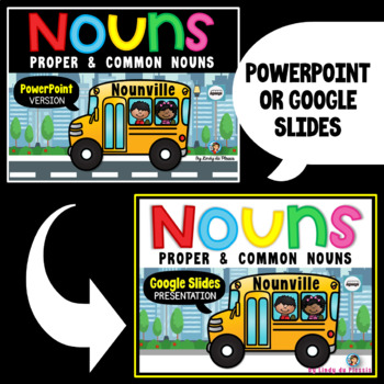 Nouns, Verbs, Adjectives, Adverbs, and Pronouns - ELA L.3.1.A BUNDLE