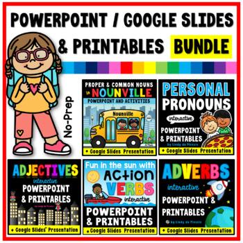 Nouns Pronouns Adjectives Adverbs Practice Google Drive L31