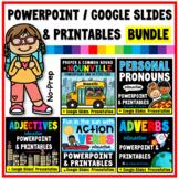 Nouns, Verbs, Adjectives, Adverbs, and Pronouns - ELA L.3.1.A BUNDLE