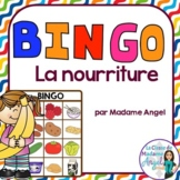 Nourriture:   Food Themed Bingo Game in French