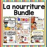 Nourriture:  French Food Themed Vocabulary BUNDLE
