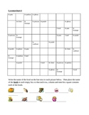 Nourriture (Food in French) Sudoku