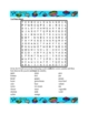 Nourriture (Food in French) Wordsearch 1