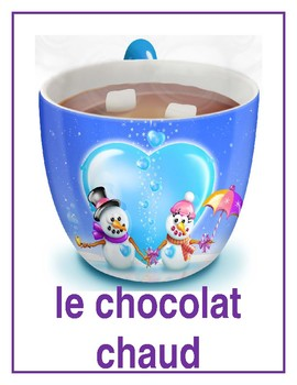 Nourriture (Food in French) Posters
