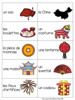 Nouvel An Chinois:  Chinese New Year Game in French - La tapette à mouches