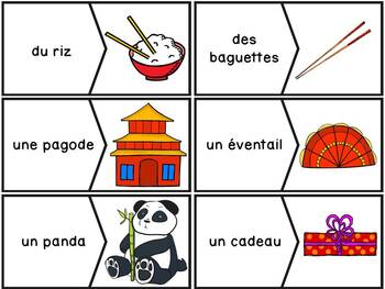 Nouvel An Chinois - French Chinese New Year - 36 puzzles