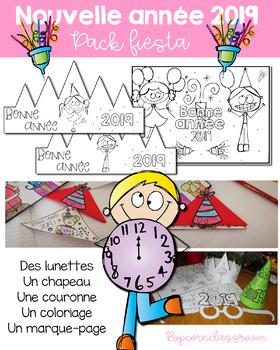 Nouvel an - Pack Fiesta - Accessoires à imprimer