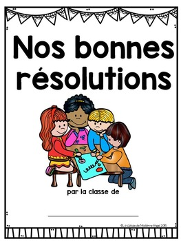 Nouvelle année:  New Year's Themed Emergent Reader in French