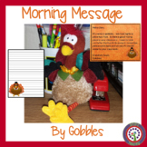 Thanksgiving Morning Message - Works for Traditional and Digital Classrooms!