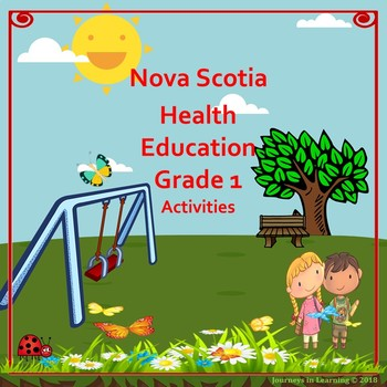 Nova Scotia Health Education Grade 1 Activities