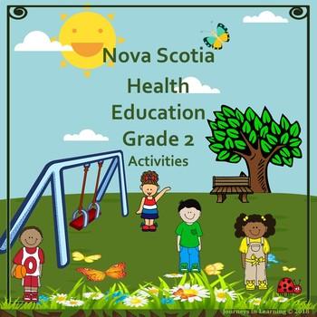 Nova Scotia Health Education Grade 2 Activities