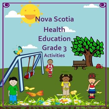 Nova Scotia Health Education Grade 3 Activities