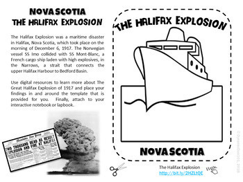 Nova Scotia Interactive Notebook Consumable Workbook with Test Prep