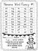 Autumn Nonsense Word Fluency R.T.I. Resource Assessment Pack for November