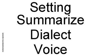 Novel Academic Vocabulary Word Wall