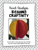 Novel Analysis: Reading & Writing Craftivity!