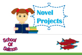 Novel Book Projects - 5 in 1!