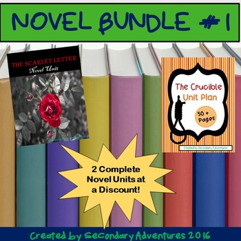 Novel Bundle #1 {The Crucible and The Scarlet Letter}