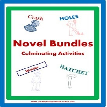 Novel Bundles-Culminating Activities