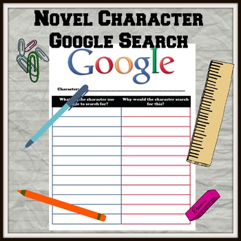 Novel Character Google Search