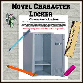 Novel Character Locker