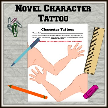Novel Character Tattoos