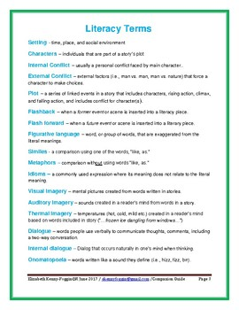 Novel Companion Guide