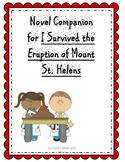 Novel Companion for I Survived the Eruption of Mount St. H