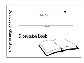 Novel Discussion Booklet