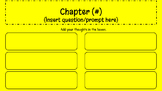 Novel Discussion Template Google Slides