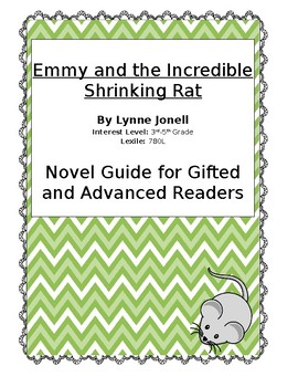 Novel Guide for Gifted and Advanced Readers