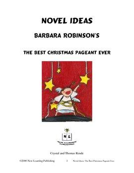 Novel Ideas: Barbara Robinson's The Best Christmas Pageant Ever