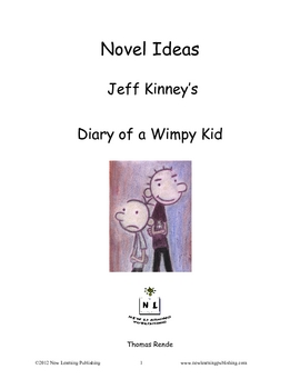 Novel Ideas - Jeff Kinneys Diary of a Wimpy Kid