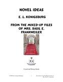 Novel Ideas: From the Mixed-Up Files of Mrs. Basil E. Frankweiler