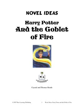 Novel Ideas: J. K. Rowling's Harry Potter and the Goblet of Fire