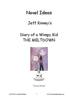 Diary Of A Wimpy Kid The Meltdown Worksheets Teaching Resources Tpt
