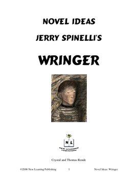 Novel Ideas: Jerry Spinelli's Wringer