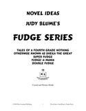 Novel Ideas: Judy Blume's Fudge Series